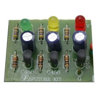 110FA: ไฟกระพริบ 3 จังหวะ LED 3 ดวง