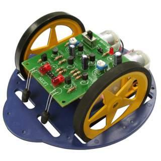 1106FA: หุ่นยนต์ GEAR LICON วิ่งตามแสง