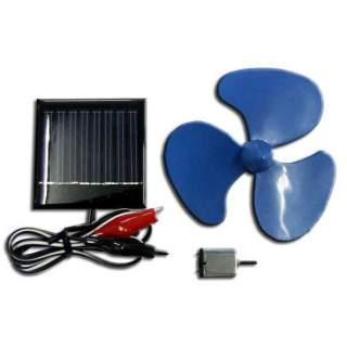 1001FK : พัดลมขนาดเล็กใช้พลังงานโซลาร์เซลล์