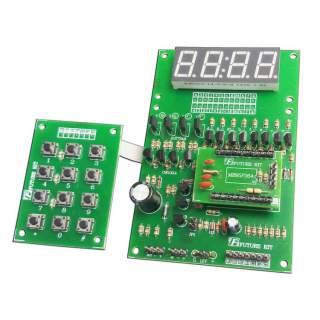 960FA: 4x3 ปุ่มกดแสดงตัวเลข 4 หลัก พร้อมตัวขับ
