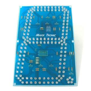 MX004: ตัวเลขจัมโบ้ 9 นิ้ว (LED อุลตร้าไบรท์)