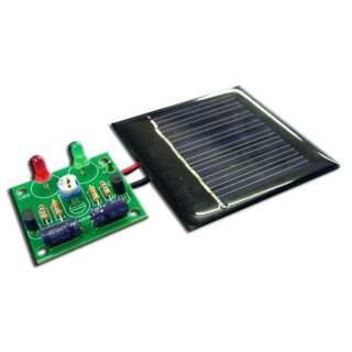 1005FA: ไฟกระพริบสลับ ใช้พลังงานโซลาร์เซลล์ LED 2 ดวง