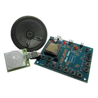 MX116: PIR ตรวจจับการเคลื่อนไหว เล่นเสียง MP3