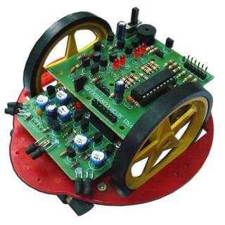 1112FA: หุ่นยนต์ค้นหาสมบัติ MICRO AVR3