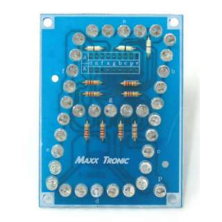 MX001: ตัวเลขจัมโบ้ 3 นิ้ว (LED อุลตร้าไบรท์)