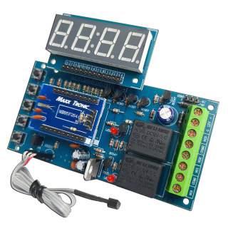 MX129: ควบคุมอุณหภูมิพร้อมตั้งเวลา 1-99 ชั่วโมง