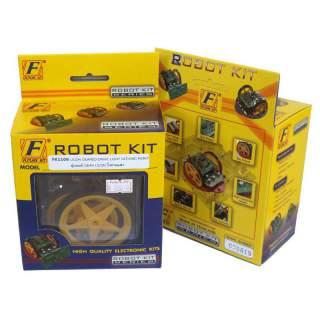 1106FK: หุ่นยนต์ GEAR LICON วิ่งตามแสง