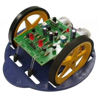 1107FA: หุ่นยนต์ GEAR DACON วิ่งหนีแสง