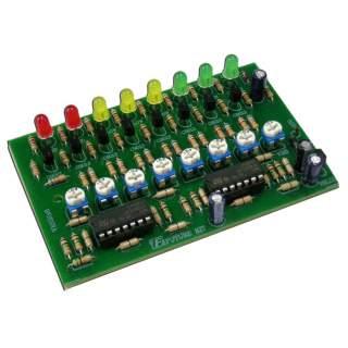 939FA: เครื่องบอกแรงดันแบตเตอรี่ LED 8 ดวง