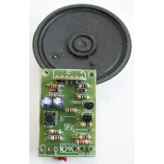 202FA: เสียงวัว IC ดิจิตอล พร้อมลำโพง