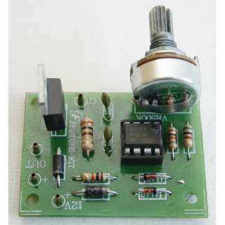 804FA: ควบคุมความเร็วมอเตอร์ DC 12V 0-20W