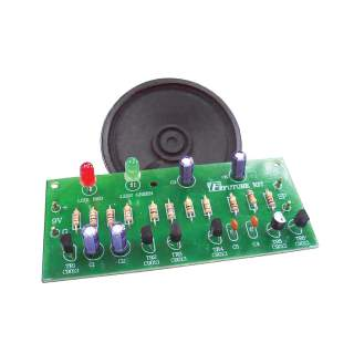 1202FA: เสียงไซเรนพร้อมไฟกระพริบ LED 2 ดวง