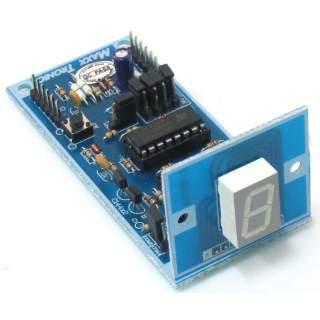 MX009: ดิจิตอลเคาท์เตอร์ 1 หลัก (ตั้งค่าเริ่มต้นได้)