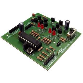 1109CFA: ชุดควบคุมหุ่นยนต์ MICRO AVR1 SUPER SUMO