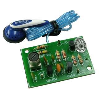 710FA: วิทยุแร่ ใช้ IC พร้อมหูฟัง