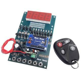 MX128: เครื่องนับจำนวน 4 หลัก พร้อมรีโมทคอนโทรล