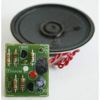 909FA: โอห์มมิเตอร์ใช้เสียง พร้อมลำโพง