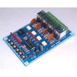 MX055: ไฟวิ่ง 32 โปรแกรม 4 ช่อง 4,000 วัตต์