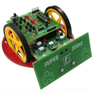1109FA: หุ่นยนต์ซูโม่ MICRO AVR1 SUPER SUMO
