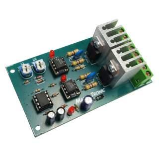 MX120: ไฟกระพริบ 2 ช่อง 220 โวลท์เอซี 2000 วัตต์