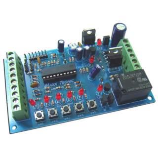 MX081: กันขโมย 5 โซน ใช้ไมโครคอนโทรลเลอร์