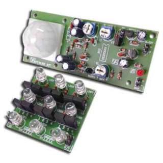 517FA: PIR ตรวจจับการเคลื่อนไหวเปิดไฟอัตโนมัติ 9 LED