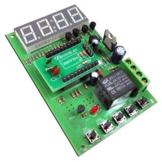 952FA: วงจรจับเวลาทำงาน ระบบดิจิตอล 1 วินาที - 9999 ชั่วโมง