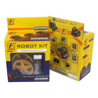 1112FK: หุ่นยนต์ค้นหาสมบัติ MICRO AVR3