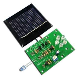 1004FA: ไฟกลางคืนใช้โซลาร์เซลล์ LED 5 ดวง
