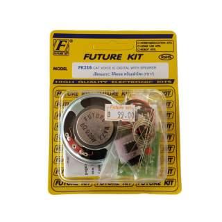 216FK: เสียงแมว IC ดิจิตอล พร้อมลำโพง