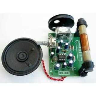 708FA: วิทยุ AM ระบบไอซี พร้อมลำโพง